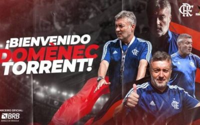 Domenec Torrent, nuevo entrenador de Flamengo