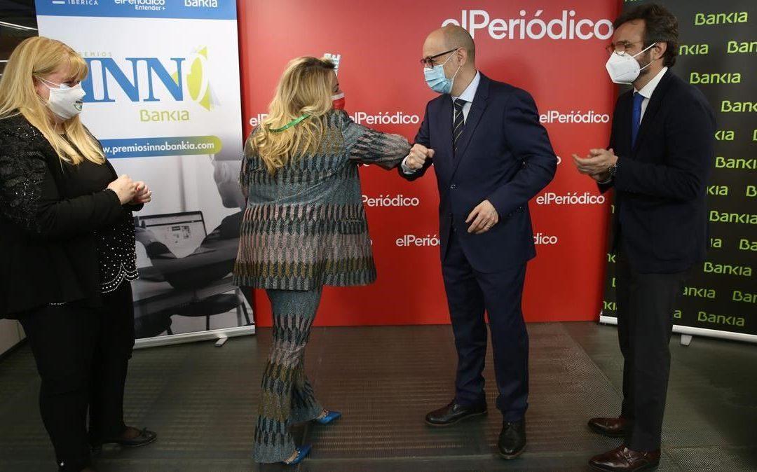 Carinsa, Sifu, Cooltra, Toni Pons y Heura , galardonadas con el premio Innobankia