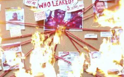 Ryan Reynolds sigue buscando a quien filtró la primera versión de 'Deadpool'