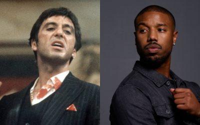 Michael B. Jordan suena como candidato para protagonizar el remake de 'Scarface'