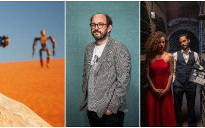 Borja Cobeaga, Itziar Castro y Cristina Plazas, jurado del festival de cortometrajes 'Rueda con Rueda' 2020