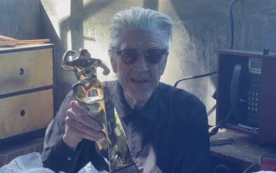 David Lynch agradece el Premio Honorífico de Sitges 2020 con un 'unboxing'